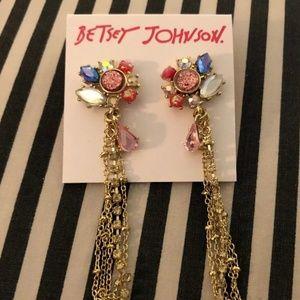 😍Espectacular Betsey Johnson Dangly Pop Earrings